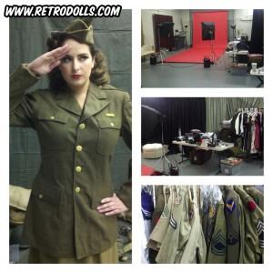 New Retrodolls Promotional Pinup Photo Shoot