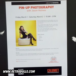 Calumet Photographic Pinup Photo Lighting Workshop in SF