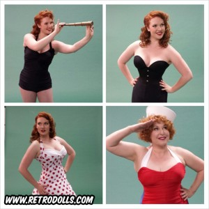 Retrodolls Classic Pinup Shoot Day and American Classic Magazine Cover Shoot