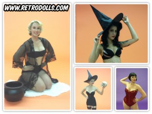 Retrodllls Halloween Themed Pinup Shoot Day