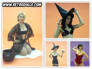 Retrodllls Halloween Themed Pinup Shoot Day