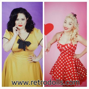 Retrodolls 2014 Valentines Day Themed Photo Shoots